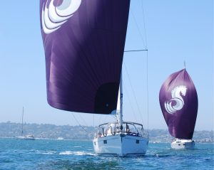 Ullman Sails Blue Line Spinnakers